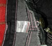 Джинсы серо-черные с розовой строчкой,крупной,полной девочке 6-7лет(указан 122ро. Кам'янське, Дніпропетровська область. фото 3
