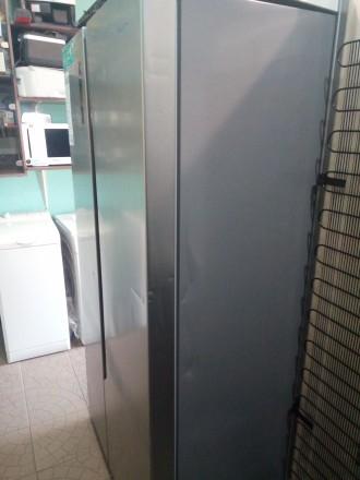Холодильник Hisense SBS518A+EL side-by-side из Германии внутри состояние нового.. Чернигов, Черниговская область. фото 4