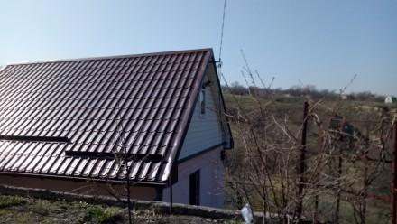 Большой двор,во дворе 3 хоз.постройки,туалет и беседка. 5 лет назад был выполнен. Таромское, Днепропетровская область. фото 4