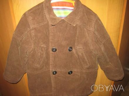 Куртка зимняя для мальчика. В хорошем состоянии. Верхний материал 100% коттон (в. Кременчук, Полтавська область. фото 1