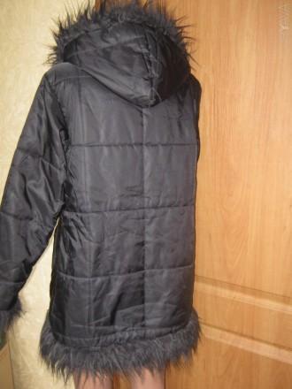 Куртка для девочки на синтепоне Donna. В хорошем состоянии. Производство Италия.. Кременчуг, Полтавская область. фото 4