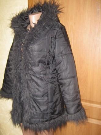 Куртка для девочки на синтепоне Donna. В хорошем состоянии. Производство Италия.. Кременчуг, Полтавская область. фото 3