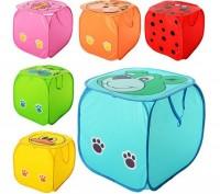 Веселая и очень вместительная корзина для игрушек для детской комнаты. Станет не. Кременчук, Полтавська область. фото 5