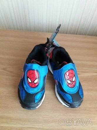 > Spiderman Детские Кроссовки  > На липучке  > Padded and Мягкая верхняя часть. Макаров, Киевская область. фото 1