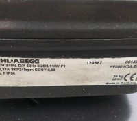 Продаються промислові вентилятори фірми Ziehl-Abegg (підшипники замінено на нові. Стрый, Львовская область. фото 5