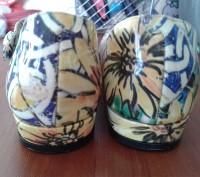 Туфли шикарные.очень красивой необычной расцветки,в реале более насыщенный цвет(. Каменское, Днепропетровская область. фото 5