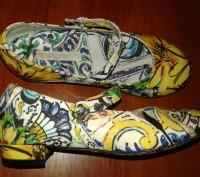 Dolce&Gabbana Италия красивенные туфли на каблучке 29р 18,5см. Каменское. фото 1