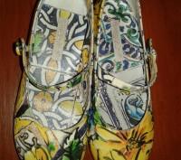 Туфли шикарные.очень красивой необычной расцветки,в реале более насыщенный цвет(. Каменское, Днепропетровская область. фото 10