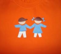 Яркая футболка на ребёнка 1,5-2 лет Цвет - оранжевый. Футболка в хорошем состо. Херсон, Херсонская область. фото 4