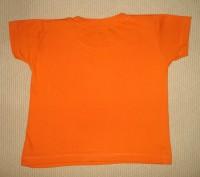 Яркая футболка на ребёнка 1,5-2 лет Цвет - оранжевый. Футболка в хорошем состо. Херсон, Херсонская область. фото 5