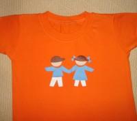 Яркая футболка на ребёнка 1,5-2 лет Цвет - оранжевый. Футболка в хорошем состо. Херсон, Херсонская область. фото 3