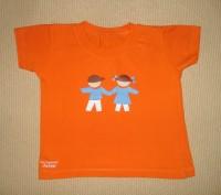 Яркая футболка на ребёнка 1,5-2 лет Цвет - оранжевый. Футболка в хорошем состо. Херсон, Херсонская область. фото 2