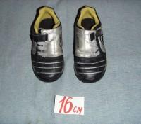 мокасины тканевые для сменной обуви для мальчика. б/у. состояние хорошее. перешл. Суми, Сумська область. фото 5