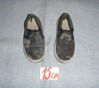 мокасины тканевые для сменной обуви для мальчика. б/у. состояние хорошее. перешл. Суми, Сумська область. фото 4
