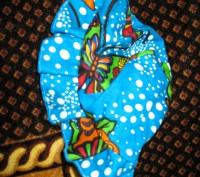 Панама 37 см но есть ткань-резинка, удобная без завязок.(ЮЗ Рустави). Черкассы, Черкасская область. фото 4