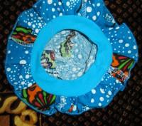 Панама 37 см но есть ткань-резинка, удобная без завязок.(ЮЗ Рустави). Черкассы, Черкасская область. фото 3