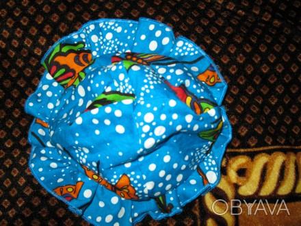 Панама 37 см но есть ткань-резинка, удобная без завязок.(ЮЗ Рустави). Черкассы, Черкасская область. фото 1