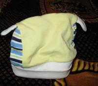 Шапка демисезонная удобная в носке. Объем от 36 до 38 см. Резинка-ткань хорошо д. Черкаси, Черкаська область. фото 2