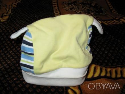 Шапка демисезонная удобная в носке. Объем от 36 до 38 см. Резинка-ткань хорошо д. Черкассы, Черкасская область. фото 1