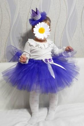 Детская юбочка из фатина для праздников или фотосессий! Талия примерно 50 см, дл. Полтава, Полтавская область. фото 12
