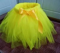 Детская юбочка из фатина для праздников или фотосессий! Талия примерно 50 см, дл. Полтава, Полтавская область. фото 3