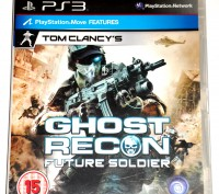Ghost Recon Future Soldier PS3 диск, на русском. Запорожье. фото 1