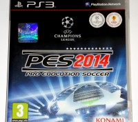 PES 2014 Pro Evolution Soccer PS3 диск, на русском. Запорожье. фото 1