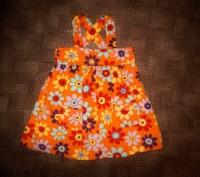 Платье-сарафан с красочной расцветкой для маленькой модницы 1-3 годика, мягеньки. Полтава, Полтавская область. фото 2