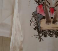 Комплект 3 в 1 Bebus: Болеро + Кофта + Джинсы. Элегантное болеро украшено милым. Одеса, Одеська область. фото 4