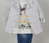 Шикарный костюм для девочки: Жакет + Кофточка + Брюки Красивый жакет, нарядная . Одесса, Одесская область. фото 2