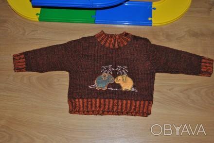 Очень классный, стильный теплый качественный свитер. Производитель- Турция. Сос. Полтава, Полтавська область. фото 1