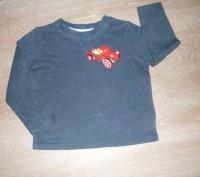 Очень классная футболка с длинным рукавом (свитер). Ткань- хлопок, очень нежная. Полтава, Полтавская область. фото 2