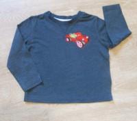 Очень классная футболка с длинным рукавом (свитер). Ткань- хлопок, очень нежная. Полтава, Полтавская область. фото 3