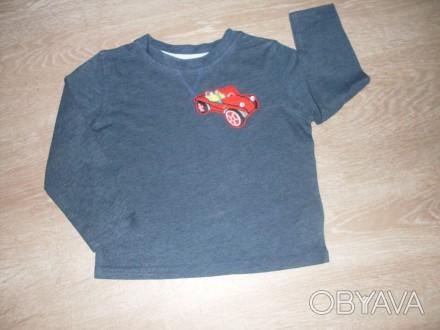 Очень классная футболка с длинным рукавом (свитер). Ткань- хлопок, очень нежная. Полтава, Полтавская область. фото 1