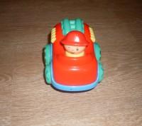 Игрушка-неваляшка, сделана в необычной форме- машинке. Такой игрушкой увлечется. Полтава, Полтавська область. фото 3