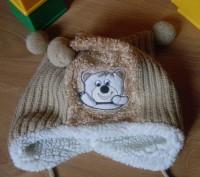 Красивая шапочка милыми балобонами ( бубенчиками). Состояние- очень хорошее, бе. Полтава, Полтавська область. фото 6