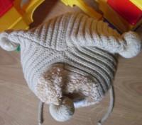 Красивая шапочка милыми балобонами ( бубенчиками). Состояние- очень хорошее, бе. Полтава, Полтавська область. фото 3