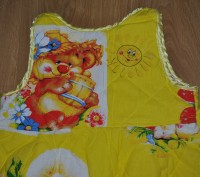 Наш любимый спальный мешочек. Шили на заказ. Ткань- бязь (не линяет, хорошего к. Полтава, Полтавская область. фото 3