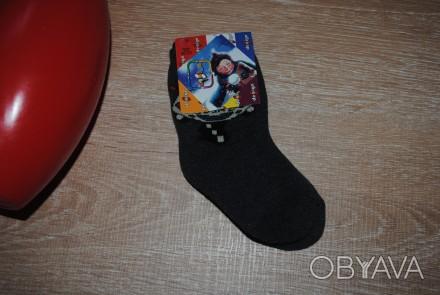 Классные теплые носочки с начесом внутри( р. 20-22). Качество -очень хорошее! А. Полтава, Полтавская область. фото 1