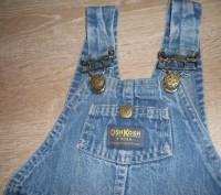 """Очень качественный комбинезон, фирма """"Osn Kosh"""". Ткань- плотный, прочный джинс,. Полтава, Полтавская область. фото 4"""