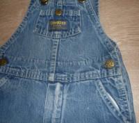 """Очень качественный комбинезон, фирма """"Osn Kosh"""". Ткань- плотный, прочный джинс,. Полтава, Полтавская область. фото 5"""