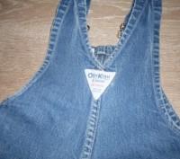 """Очень качественный комбинезон, фирма """"Osn Kosh"""". Ткань- плотный, прочный джинс,. Полтава, Полтавская область. фото 6"""