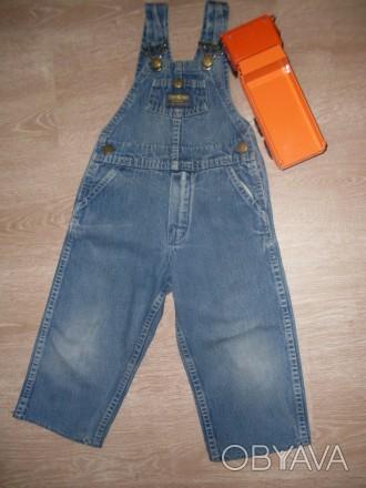 """Очень качественный комбинезон, фирма """"Osn Kosh"""". Ткань- плотный, прочный джинс,. Полтава, Полтавская область. фото 1"""