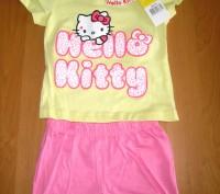 Детская летняя пижама для девочки Китти, Hello Kitty Sun City, 3-8лет Состав: 1. Киев, Киевская область. фото 2