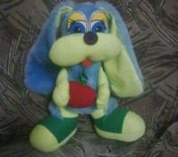Обменяю или продам ( 50 грн ) игрушку зайчик из мягкого искуственного меха, без . Хмельницкий, Хмельницкая область. фото 3