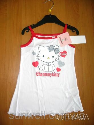 Детская летняя ночная рубашка для девочки Китти, Charmmykitty Sun City, 3-8лет . Киев, Киевская область. фото 1