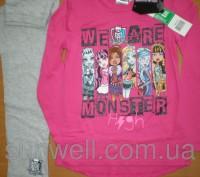 Детская пижама для девочек Monster High (лицензия Дисней) Состав: хлопок 100% . Киев, Киевская область. фото 2
