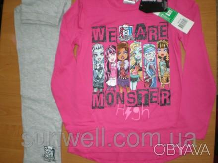 Детская пижама для девочек Monster High (лицензия Дисней) Состав: хлопок 100% . Киев, Киевская область. фото 1