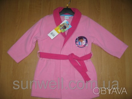 Детский халат для девочки  Дисней Доктор Плюшева ( Doc McStuffins), 3-8лет Хала. Киев, Киевская область. фото 1