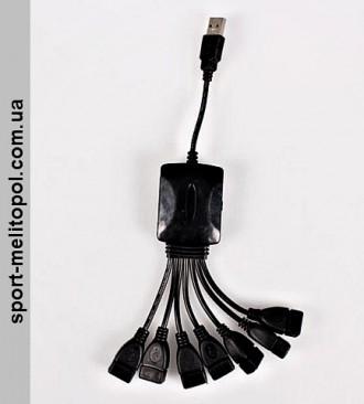 Переходник Это 7 портовый USB-концентратор, который является идеальным компань. Мелитополь, Запорожская область. фото 8